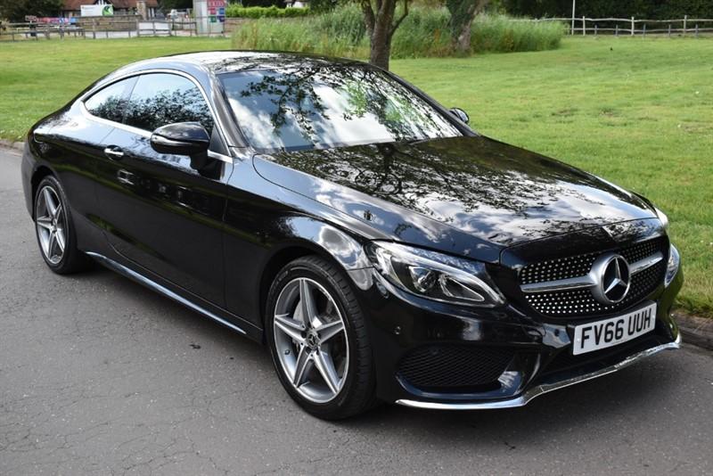 used Mercedes C250 D AMG LINE PREMIUM 2.2 2dr in aldershot-hampshire