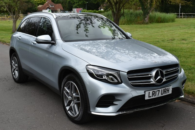 used Mercedes 250 GLC  D 4MATIC AMG LINE PREMIUM PLUS in aldershot-hampshire