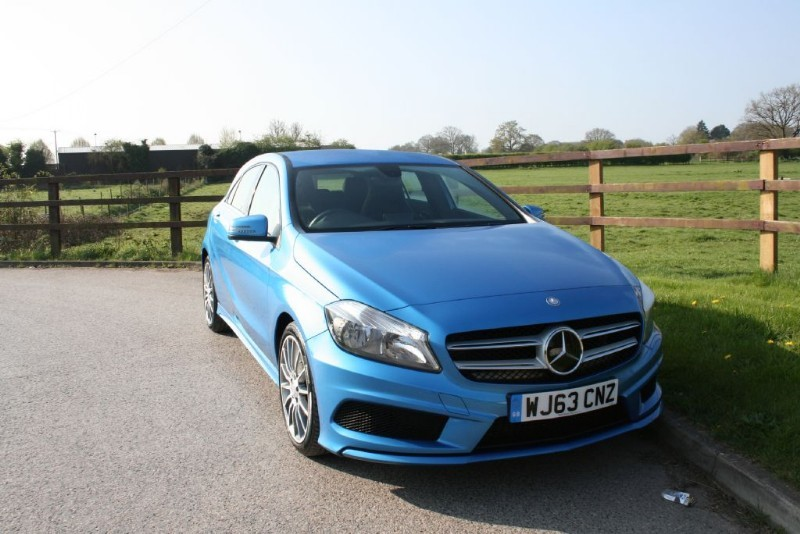 used Mercedes A200 CDI BLUEEFFICIENCY AMG SPORT in aldershot-hampshire