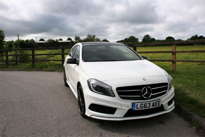 used Mercedes A200 CDI BLUEEFFICIENCY AMG SPORT PANO ROOF NIGHT PACK in aldershot-hampshire