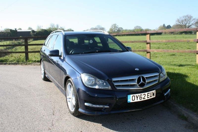 used Mercedes C220 CDI BLUEEFFICIENCY AMG SPORT in aldershot-hampshire