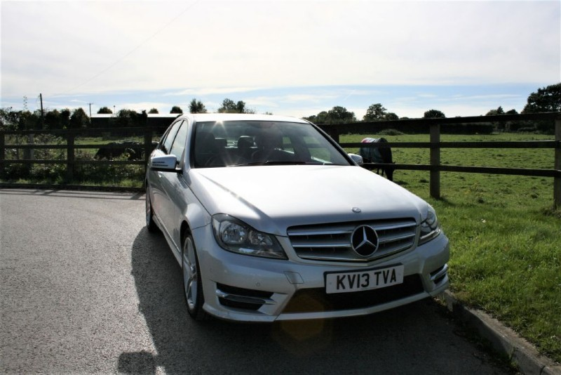 used Mercedes C220 CDI BLUEEFFICIENCY AMG SPORT in aldershot-hampshire