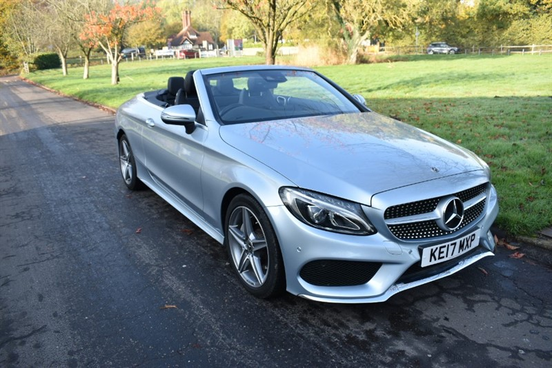 used Mercedes C220 C  D AMG LINE (VAT QUALIFYING)) in aldershot-hampshire
