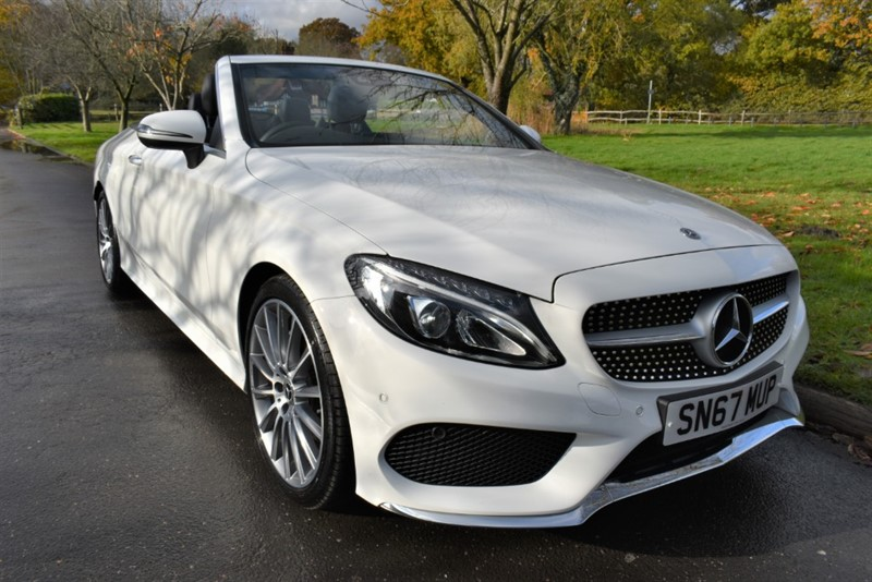 used Mercedes C220 C  D AMG LINE (VAT QUALYFYING) in aldershot-hampshire