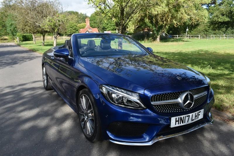 used Mercedes C250 C  D AMG LINE PREMIUM PLUS used cars in aldershot-hampshire