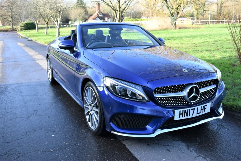 used Mercedes C250 C  D AMG LINE PREMIUM PLUS in aldershot-hampshire