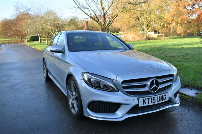 used Mercedes C250 BLUETEC AMG LINE PREMIUM in aldershot-hampshire