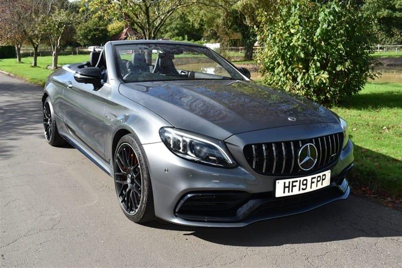 used Mercedes C63 AMG AMG C 63 S PREMIUM PLUS  BRABUS 600BHP used cars in aldershot-hampshire