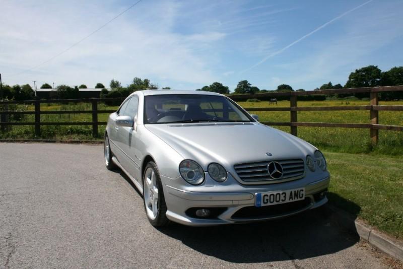 used Mercedes CL55 AMG CL CL55 AMG KOMPRESSOR in aldershot-hampshire