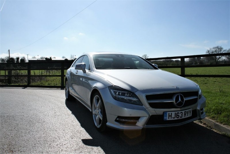 used Mercedes CLS250 CDI CLS250 CDI BLUEEFFICIENCY AMG SPORT in aldershot-hampshire
