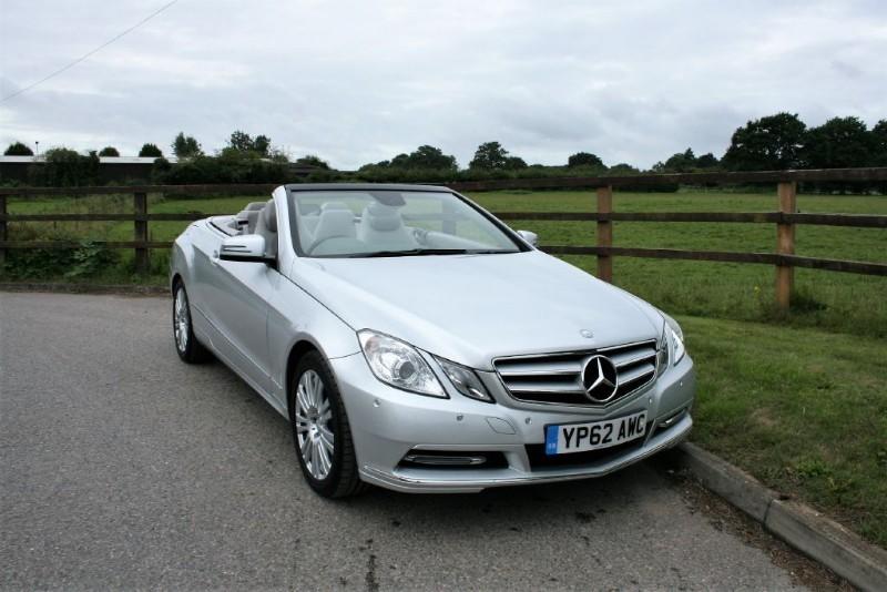 used Mercedes E220 CDI BLUEEFFICIENCY SE in aldershot-hampshire