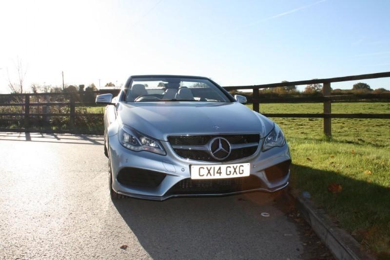 used Mercedes E220 CDI AMG SPORT in aldershot-hampshire