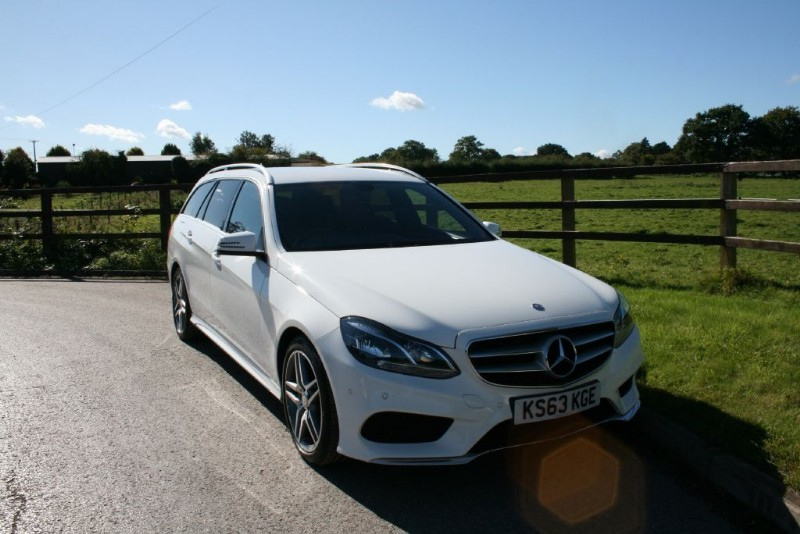 used Mercedes E220 CDI AMG SPORT in aldershot-hampshire