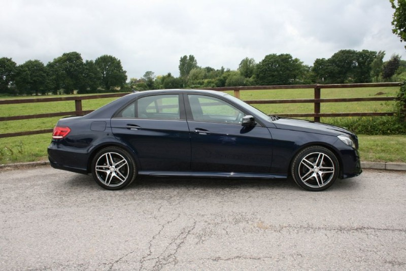 used Mercedes E220 BLUETEC AMG NIGHT EDITION in aldershot-hampshire