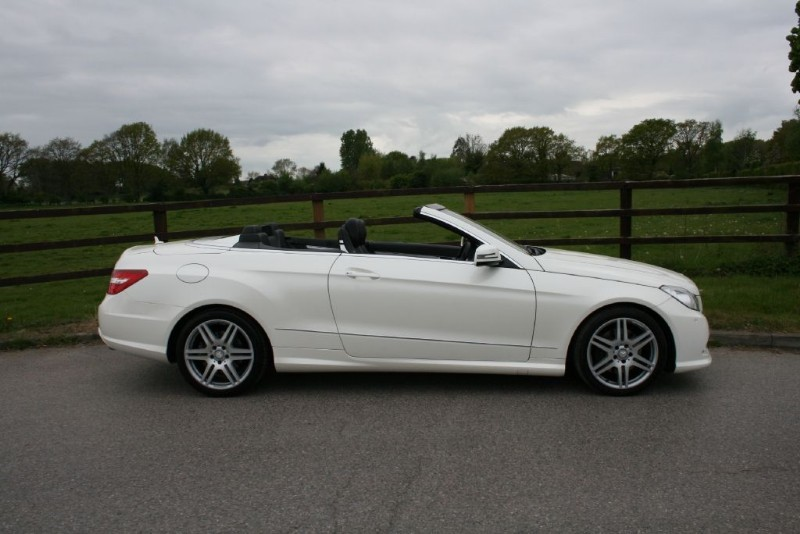 used Mercedes E350 CDI BLUEEFFICIENCY SPORT in aldershot-hampshire