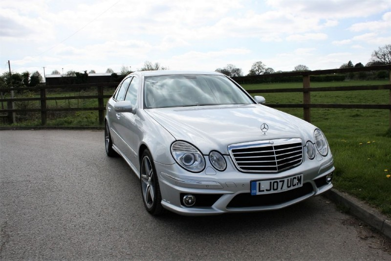 used Mercedes E63 AMG  in aldershot-hampshire
