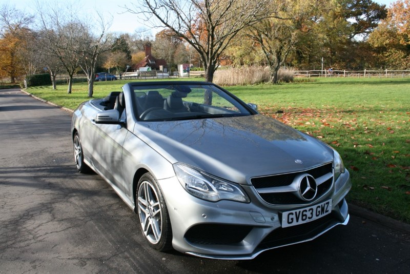 used Mercedes E200 AMG SPORT in aldershot-hampshire