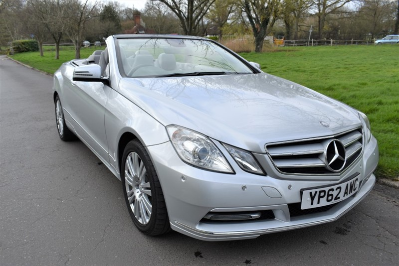 used Mercedes E220 CDI BLUEEFFICIENCY SE in aldershot-hampshire