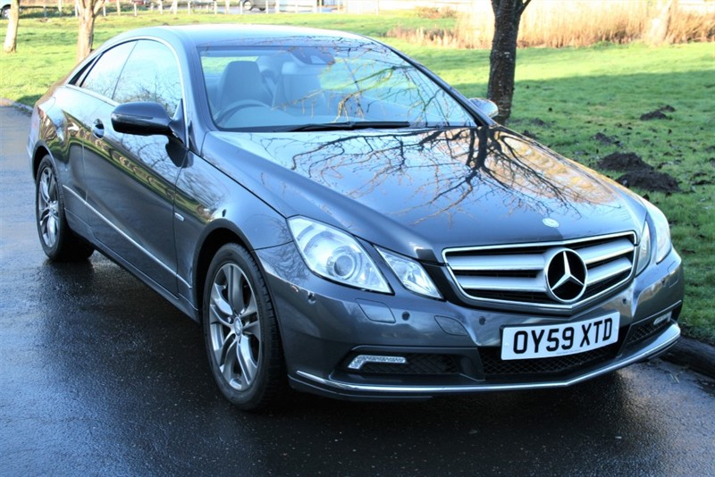 used Mercedes E350 CDI BLUEEFFICIENCY SE in aldershot-hampshire