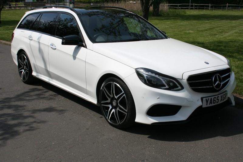 used Mercedes E350 BLUETEC AMG NIGHT ED PREMIUM PLUS in aldershot-hampshire