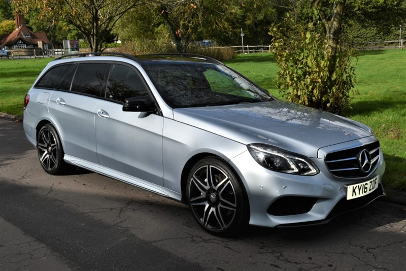 used Mercedes E350 BLUETEC AMG NIGHT EDITION PREMIUM in aldershot-hampshire