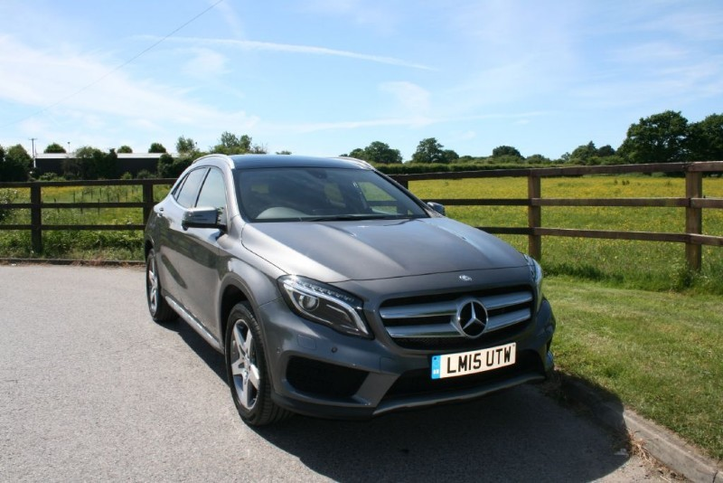 used Mercedes GLA200 A-CLASS GLA200 CDI AMG LINE PREMIUM PLUS in aldershot-hampshire
