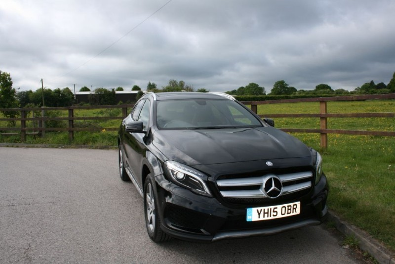used Mercedes GLA220 A-CLASS GLA220 CDI 4MATIC AMG LINE PREMIUM PLUS in aldershot-hampshire