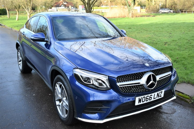 used Mercedes GLC250 GLC  D 4MATIC AMG LINE PREMIUM in aldershot-hampshire