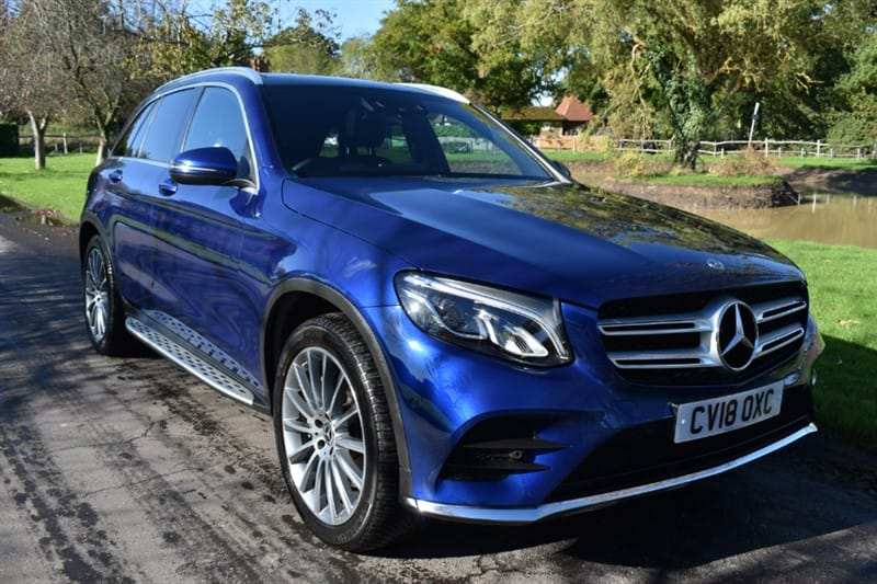 used Mercedes GLC250 GLC  D 4MATIC AMG LINE PREMIUM PLUS used cars in aldershot-hampshire