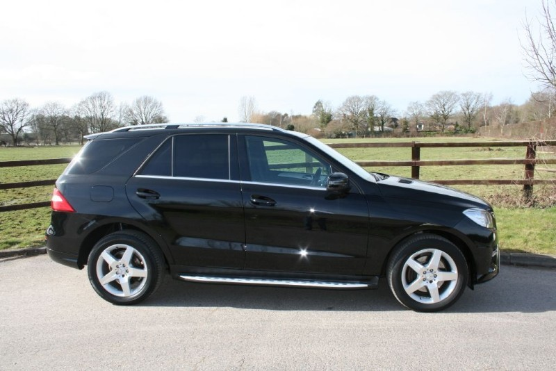 used Mercedes ML250 BLUETEC AMG SPORT in aldershot-hampshire