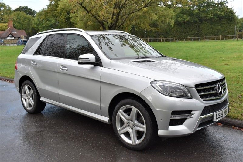 used Mercedes ML250 BLUETEC AMG LINE in aldershot-hampshire