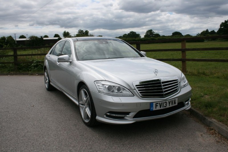 used Mercedes S350 BLUETEC L AMG SPORT EDITION in aldershot-hampshire