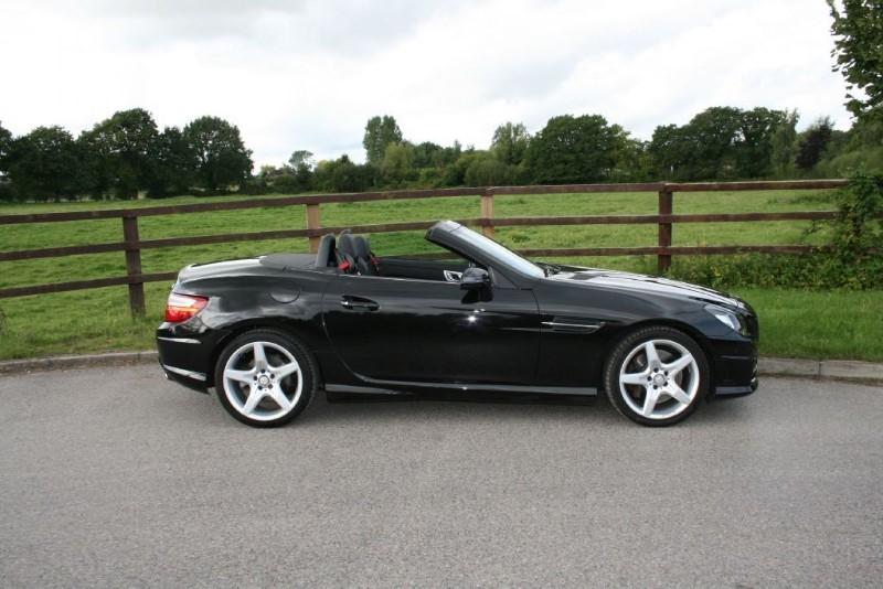 used Mercedes SLK SLK250 CDI BLUEEFFICIENCY AMG SPORT in aldershot-hampshire