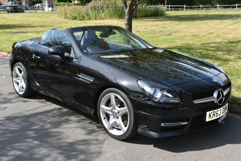 used Mercedes SLK250 SLK250 CDI BLUEEFFICIENCY AMG SPORT in aldershot-hampshire