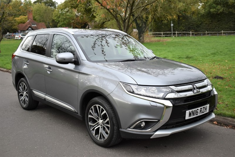 used Mitsubishi Outlander DI-D GX 4 in aldershot-hampshire