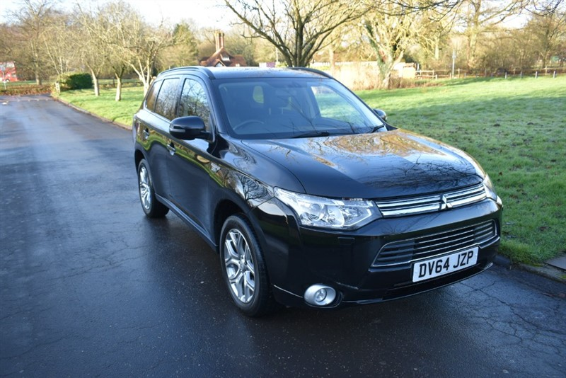 used Mitsubishi Outlander PHEV GX 4H in aldershot-hampshire