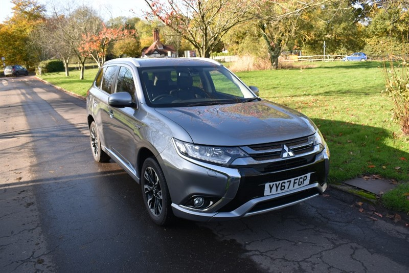 used Mitsubishi Outlander PHEV JURO in aldershot-hampshire
