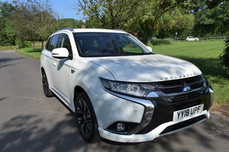 used Mitsubishi Outlander PHEV 5HS used cars in aldershot-hampshire