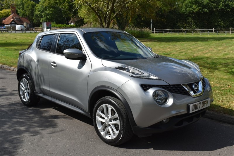 used Nissan Juke N-CONNECTA XTRONIC in aldershot-hampshire