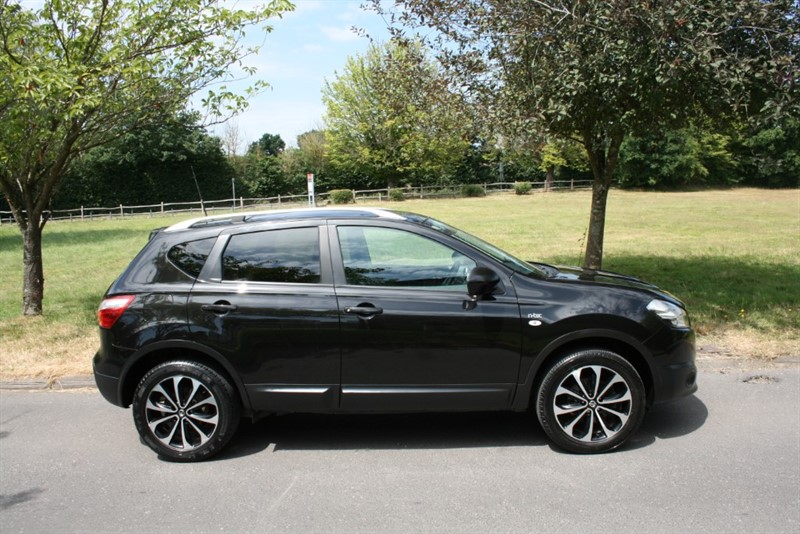 used Nissan Qashqai N-TEC in aldershot-hampshire