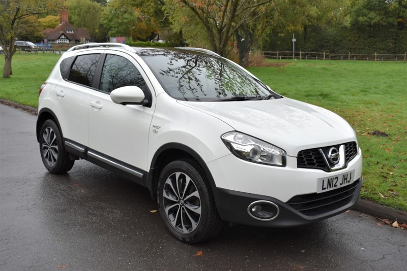 used Nissan Qashqai N-TEC PLUS in aldershot-hampshire