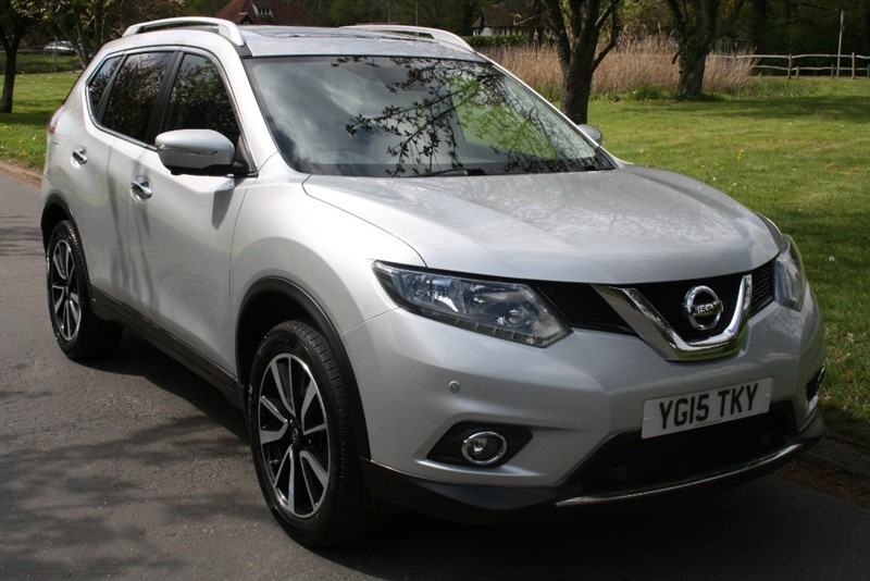 used Nissan X-Trail DCI N-TEC in aldershot-hampshire
