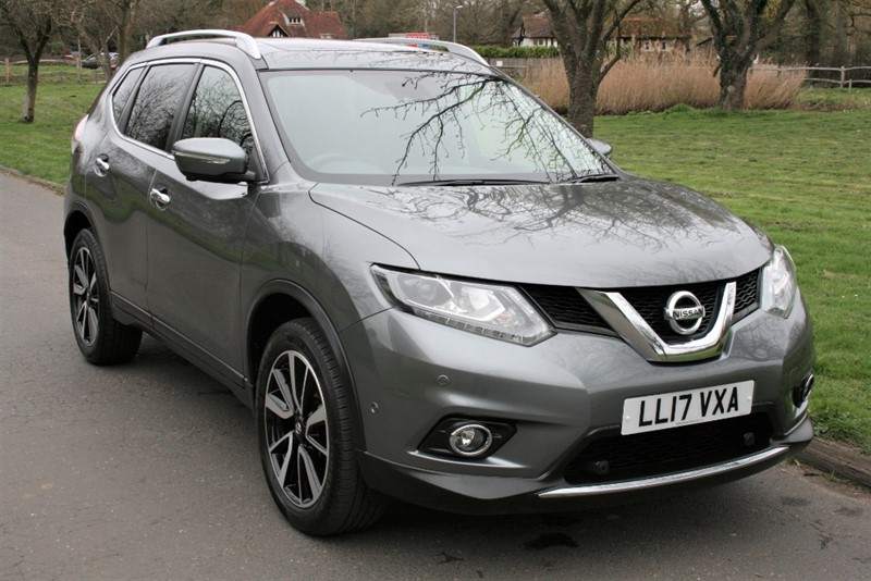 used Nissan X-Trail DCI TEKNA XTRONIC PANO ROOF in aldershot-hampshire