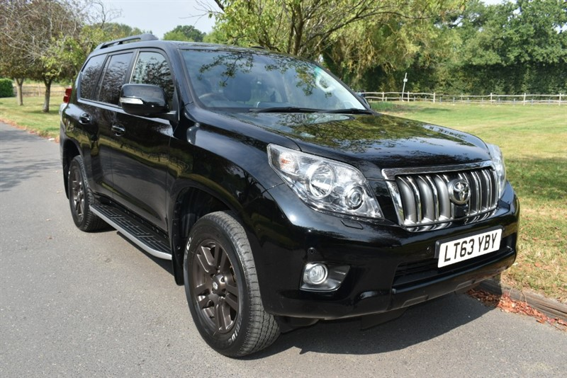used Toyota Land Cruiser D-4D LC5 used cars in aldershot-hampshire