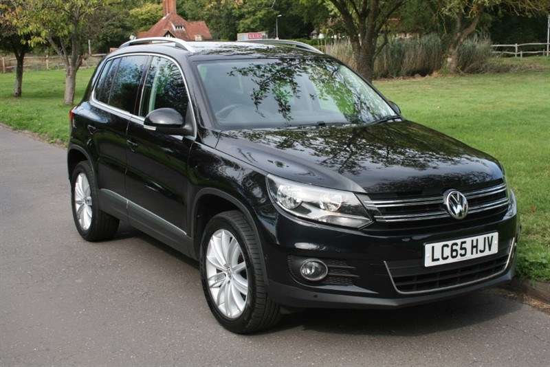 used VW Tiguan MATCH EDITION TDI BMT 4MOTION DSG in aldershot-hampshire