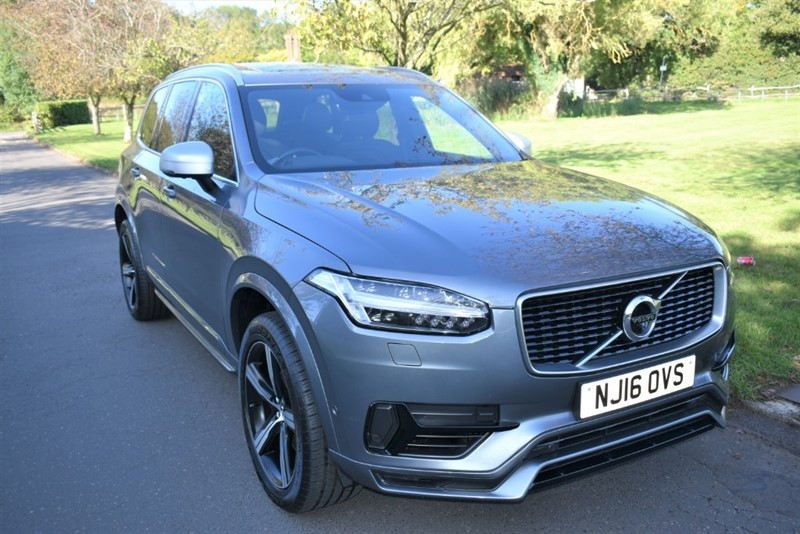 used Volvo XC90 T8 TWIN ENGINE R-DESIGN used cars in aldershot-hampshire
