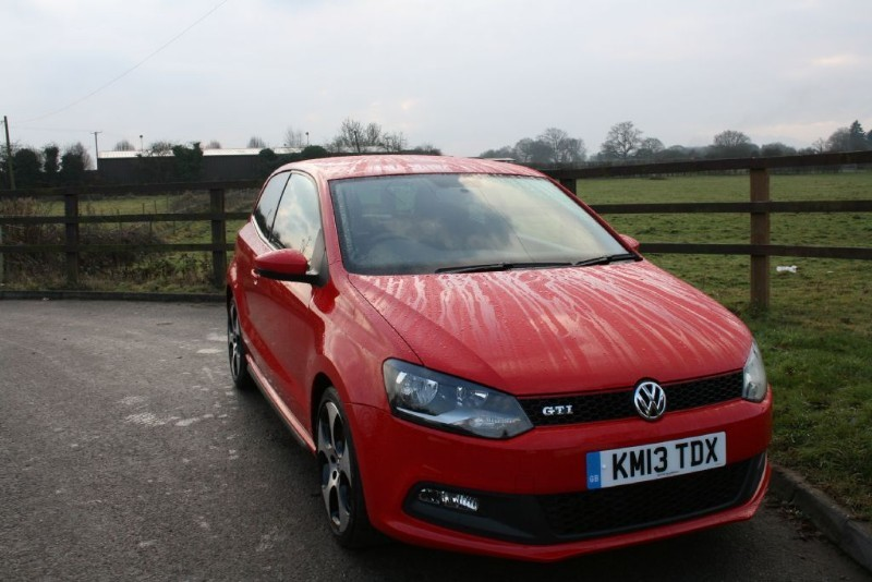 used VW Polo GTI DSG in aldershot-hampshire
