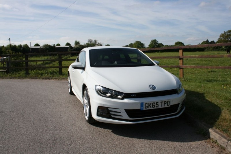 used VW Scirocco R LINE TDI BLUEMOTION TECHNOLOGY DSG in aldershot-hampshire
