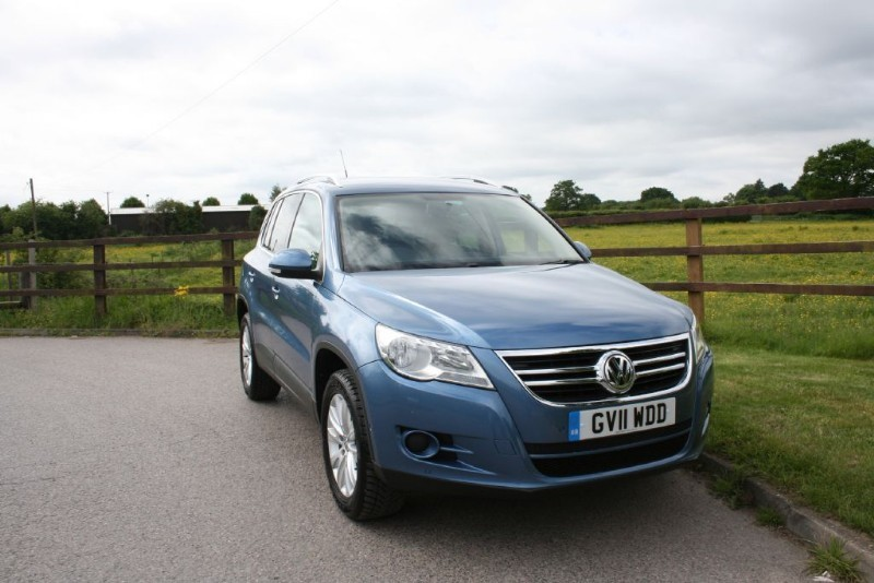 used VW Tiguan MATCH TDI 4MOTION DSG in aldershot-hampshire