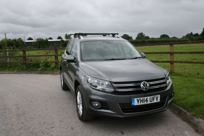 used VW Tiguan MATCH TDI BLUEMOTION TECH 4MOTION DSG in aldershot-hampshire